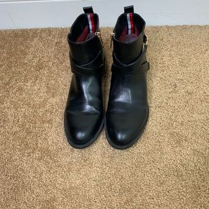 Tommy Hilfiger Side Zip Booties
